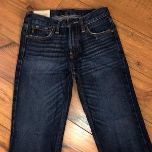 Abercrombie Boys Boot Cut Jeans EUC